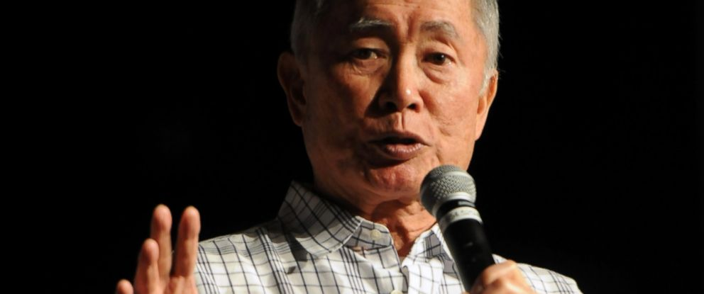 PHOTO: George Takei speaks at an event on Aug. 9, 2015 in Las Vegas.