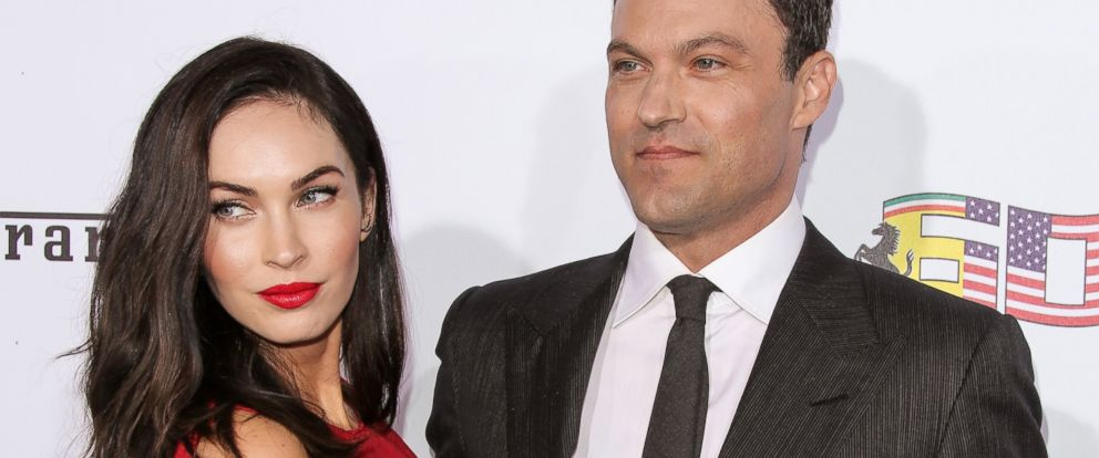 PHOTO:Megan Fox and Brian Austin Green are seen in this file photo, Oct