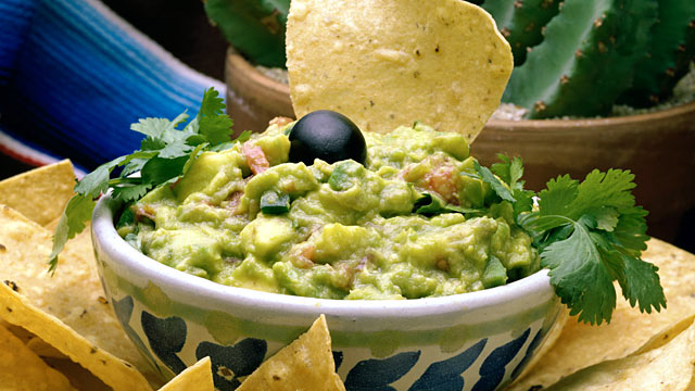 PHOTO: A classic guacamole dip is shown here.
