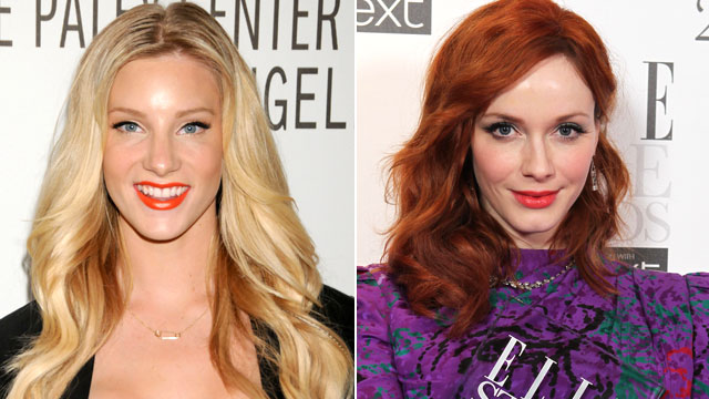 "PHOTO: Heather Morris arrives at 2011 Paley Fest as they present ""Glee"" at the Saban Theater on March 16, 2011 in Beverly Hills, California. Christina Hendricks poses in the press room during the ELLE Style Awards 2012 at The Savoy Hotel on February 13, 2"