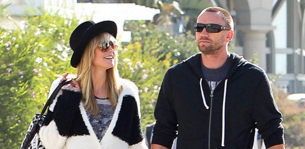 PHOTO: Heidi Klum and her boyfriend, Martin Kristen are seen on November 10, 2013 in Los Angeles, Calif.