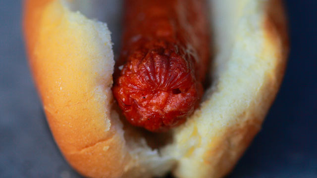PHOTO:The Feasty Boys amp-up a traditional hot dog with a creamy beer sauce.