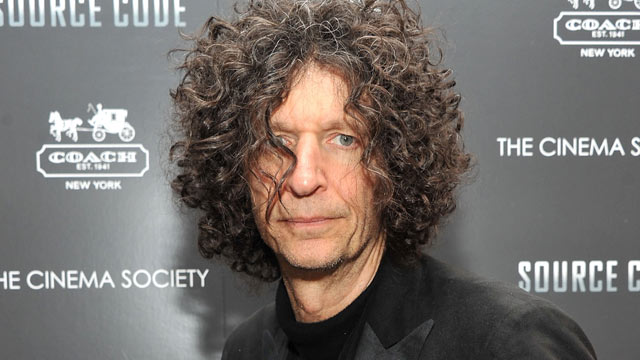 "PHOTO: Howard Stern attends the Cinema Society & Coach screening of ""Source Code"" at March 31, 2011 in New York City."