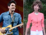 "PHOTO: John Mayer performs during the 2013 New Orleans Jazz & Heritage Music Festival at Fair Grounds Race Course on April 26, 2013 in New Orleans, Louisiana, and Johanna Rohrback, right, is seen in her excercise video ""Prancercise"", posted on YouTube on"