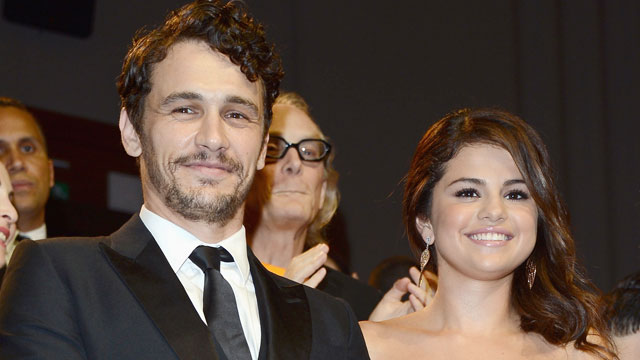 "PHOTO: James Franco (L) and actress Selena Gomez attends ""Spring Breakers"" Premiere during The 69th Venice Film Festival at the Palazzo del Cinema on Sept. 5, 2012 in Venice, Italy."