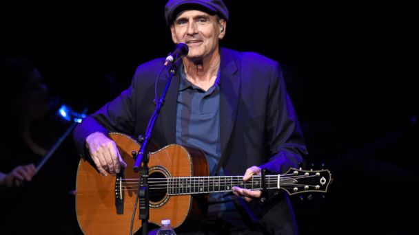 PHOTO: James Taylor performs onstage during SiriusXM Presents James Taylor Live at The Apollo Theater on June 16, 2015 in New York
