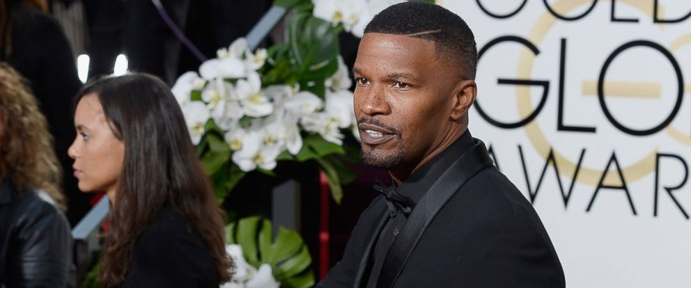 PHOTO: Jamie Foxx arrives to the 73rd Annual Golden Globe Awards held at the Beverly Hilton Hotel on Jan. 10, 2016.