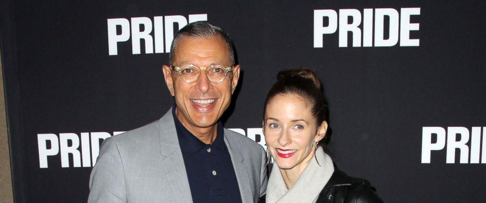 "PHOTO: Actor Jeff Goldblum and Emilie Livingston attend the Screening of CBS Films ""Pride"" on Sept. 23, 2014 in Beverly Hills, California."