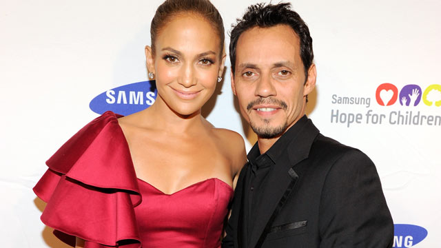 PHOTO: Jennifer Lopez and Marc Anthony attend the Samsung Hope for Children Gala at Cipriani Wall Street, June 7, 2011 in New York City.