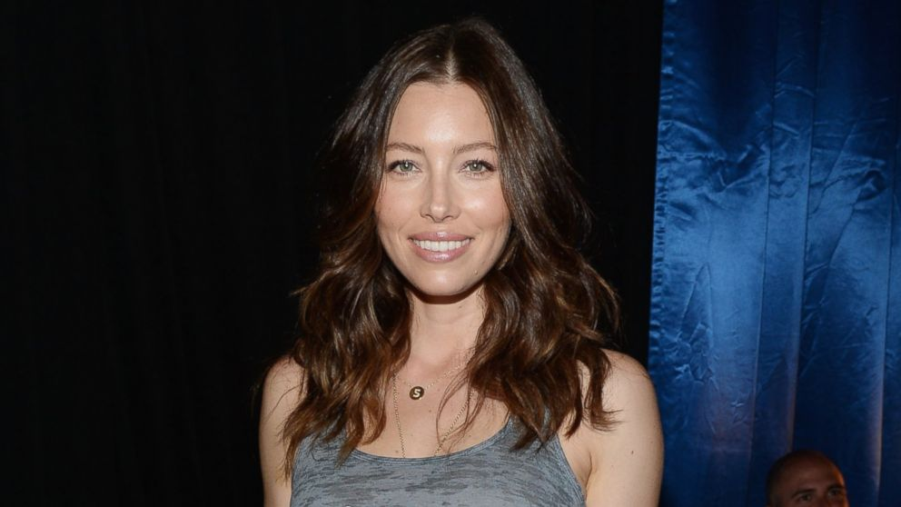Jessica Biel attends the Think It Up education initiative telecast for teachers and students at Barker Hangar on Sept. 11, 2015 in Santa Monica, Calif.