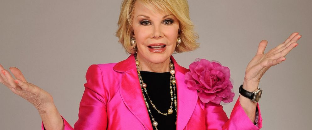 PHOTO: Joan Rivers attends the Tribeca Film Festival 2010 portrait studio at the FilmMaker Industry Press Center on April 27, 2010 in New York.