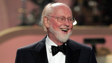 """PHOTO: Conductor John Williams performs at """"Movies Rock"""" A Celebration Of Music In Film held at the Kodak Theatre, Dec. 2, 2007 in Hollywood, Calif."""