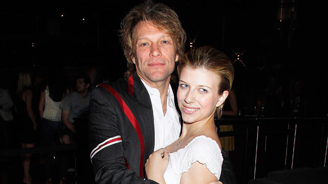 PHOTO: Stephanie Rose Bongiovi and her dad, Jon Bon Jovi attend the White Trash Beautiful Clothing Label Launch, June 23,2010 in London, England.