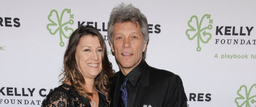 PHOTO: Jon Bon Jovi and his wife Dorothea Hurley attend the Kelly Cares Foundation 2016 Irish Eyes Gala at The Pierre Hotel, March 14, 2016, in New York City.