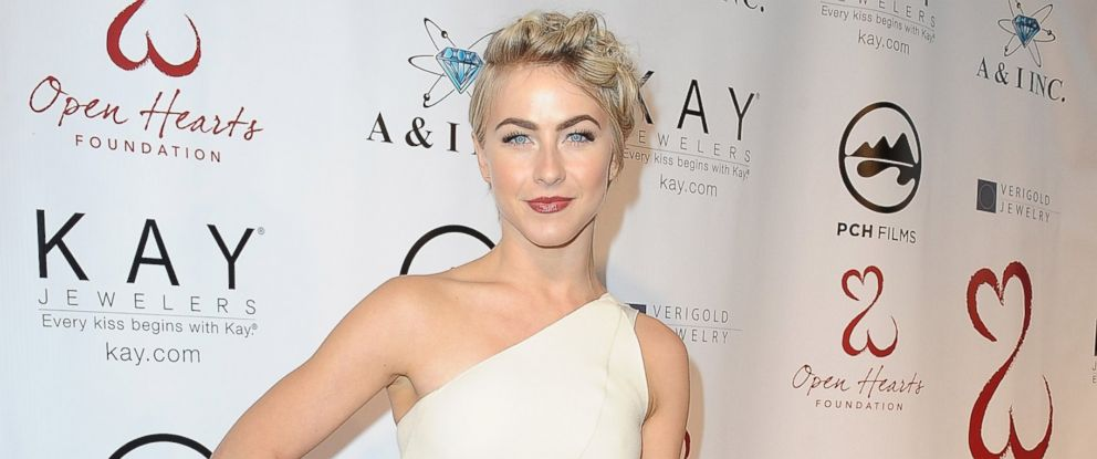 PHOTO: Actress Julianne Hough attends the Open Hearts Foundation Gala on May 10, 2014 in Malibu, Calif.