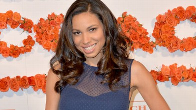 PHOTO: Jurnee Smollett attends the 3rd Annual Coach Evening to benefit Children's Defense Fund at Bad Robot on April 10, 2013 in Santa Monica, Calif.