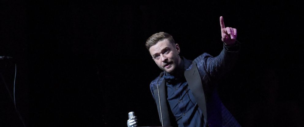 PHOTO: Justin Timberlake is inducted into the Memphis Music Hall of Fame on Oct. 17, 2015 in Memphis, Tennessee.