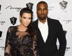 PHOTO: Kim Kardashian and Kanye West arrive for the New Years Eve countdown, Dec.31, 2012, in Las Vegas.