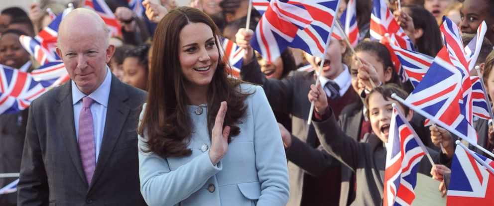 PHOTO: Catherine, Duchess of Cambridge visits the Kensington Aldridge Academy on Jan. 19, 2015 in London, England.