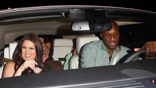 PHOTO: Lamar Odom and Khloe Kardashian