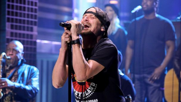 PHOTO: Musical guest Kid Rock performs on The Tonight Show with Jimmy Fallon on Feb. 23, 2015.