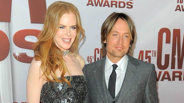 PHOTO: Nicole Kidman and Keith Urban attend the 45th annual CMA Awards at the Bridgestone Arena on Nov. 9, 2011 in Nashville, Tennessee.