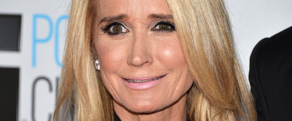 PHOTO: Kim Richards arrives at NBCUniversals 72nd Annual Golden Globes after party on Jan. 11, 2015 in Beverly Hills, Calif.