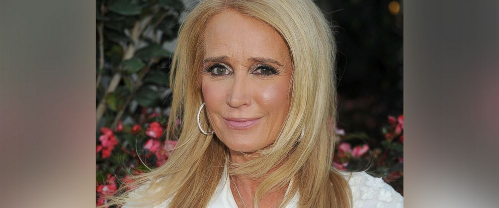 """PHOTO: Kim Richards arrives at the premiere of """"Sharknado 3: Oh Hell No!"""" at iPic Theaters on July 22, 2015 in Los Angeles."""