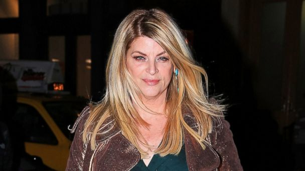 PHOTO: Kirstie Alley is seen arriving at a hotel in New York City on April 8, 2014.