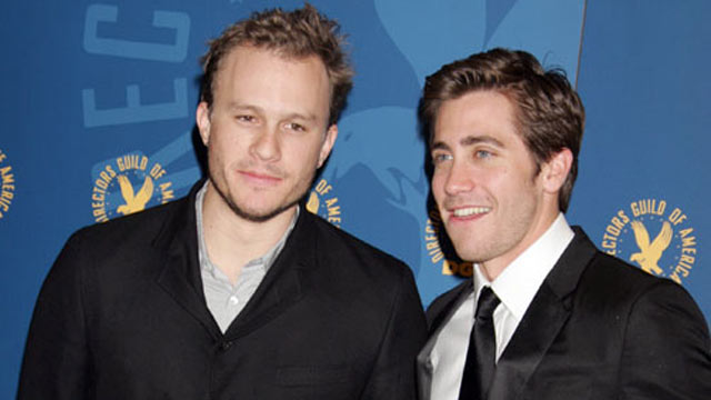 PHOTO:Heath Ledger and Jake Gyllenhaal at the 58th Annual Directors Guild of America Awards, Jan. 28, 2006.