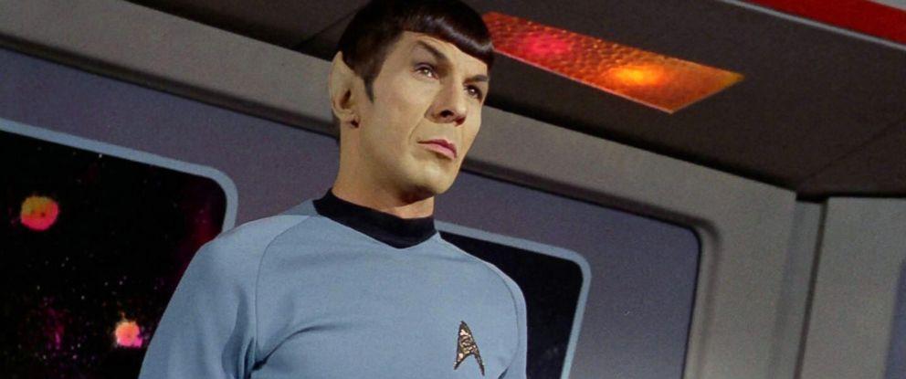 """PHOTO: Leonard Nimoy as Mr. Spock in the Star Trek episode, """"Spocks Brain"""" which aired on September 20, 1968."""