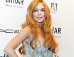 PHOTO: Lindsay Lohan attends amfAR New York Gala To Kick Off Fall 2013 Fashion Week at Cipriani, Wall Street, Feb. 6, 2013 in New York City.