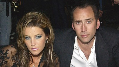 PHOTO: Lisa Marie Presley and Nicolas Cage