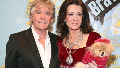 "PHOTO: Ken Todd and Lisa Vanderpump attends Bravo's ""Watch What Happens Live: Andy's New Year's Party"" at the Bravo Club House at the Embassy Row Production Offices, Dec. 31, 2010 in New York City."