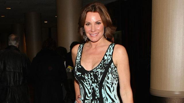 """PHOTO: LuAnn de Lesseps attends the Media Opening for """"Kinky Boots"""" on Broadway, April 4, 2013, in New York City."""