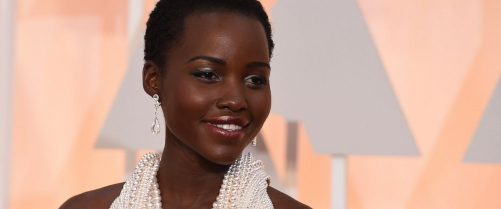 PHOTO:Actress Lupita Nyongo arrives on the red carpet for the 87th Oscars, Feb.22, 2015, in Hollywood, Calif.