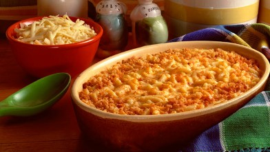 PHOTO: Macaroni and cheese is shown.