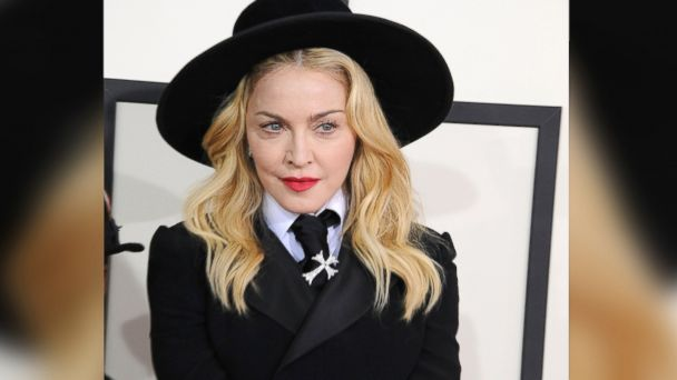 PHOTO: Madonna arrives for the Grammy Awards on January 26, 2014 in Los Angeles, Calif.