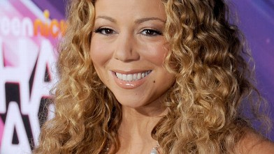 PHOTO: Actress/singer Mariah Carey arrives at the TeenNick HALO Awards at The Hollywood Palladium on November 17, 2012 in Los Angeles, California.