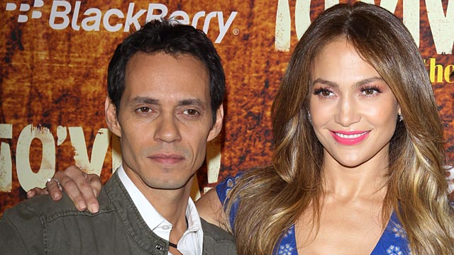 PHOTO: Marc Anthony, Jennifer Lopez
