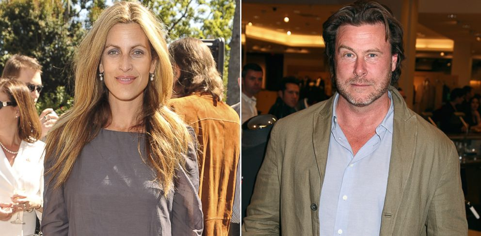 PHOTO: Mary Jo Eustace, seen left in this March 2010 file photo, speaks about her ex-husband Dean McDermott, seen right in this November 2013 file photo.