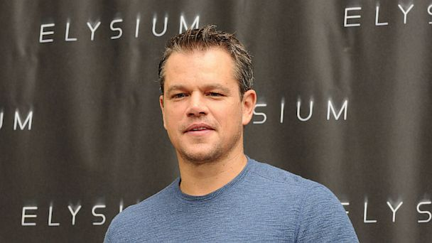 """PHOTO: Matt Damon attends the """"Elysium"""" photo call at Four Seasons Hotel Los Angeles at Beverly Hills on Aug. 2, 2013 in Beverly Hills, Calif."""