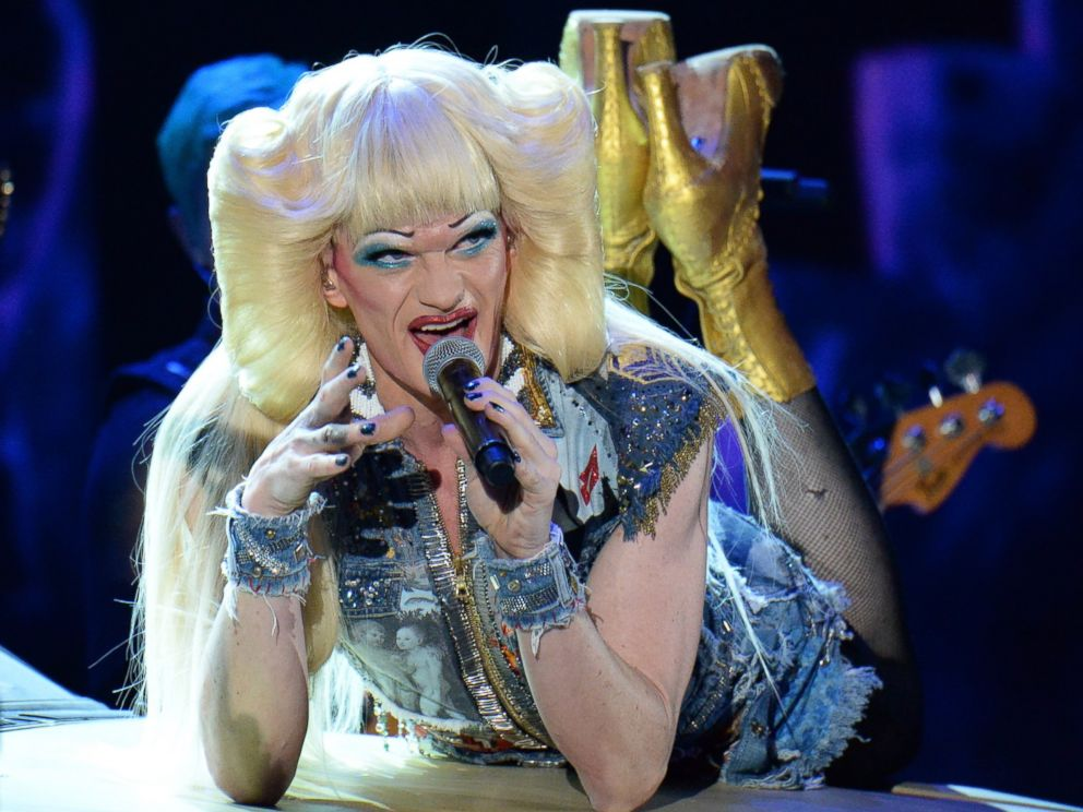 PHOTO: Neil Patrick Harris and the cast of Hedwig and the Angry Inch perform onstage during the 68th Annual Tony Awards at Radio City Music Hall on June 8, 2014 in New York City.