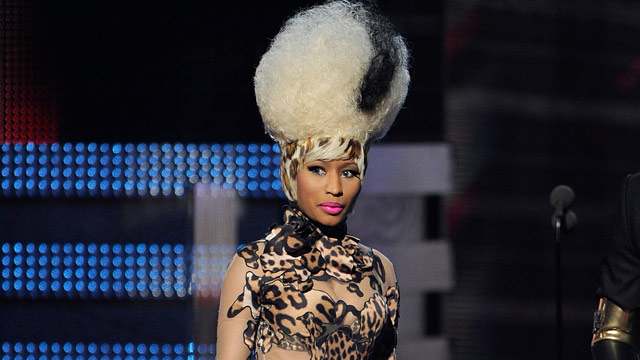 PHOTO: Singer Nicki Minaj walks onstage during The 53rd Annual GRAMMY Awards held at Staples Center on February 13, 2011 in Los Angeles, California.