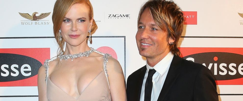 PHOTO: Nicole Kidman and Keith Urban attend the Celebrate Life Ball at Grand Hyatt Melbourne on June 13, 2014 in Melbourne, Australia.