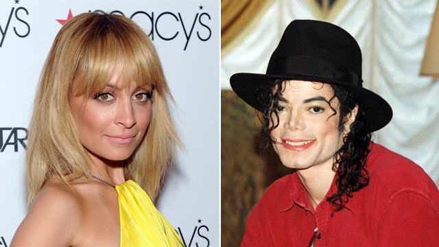 PHOTO:Nicole Richie attends Macy's Celebrates NBC's New Primetime Series, Fashion Star, at Macy's Herald Square on March 13, 2012 in New York. Michael Jackson poses at a press conference before a date on his HIStory world tour in 1996.