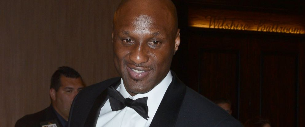 PHOTO: Lamar Odom leaves the Golden Globe after party on Jan. 12, 2014 in Los Angeles.