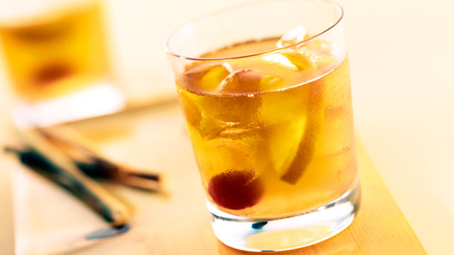 PHOTO: Southern Living's Satsuma old-fashioned cocktail is shown here.