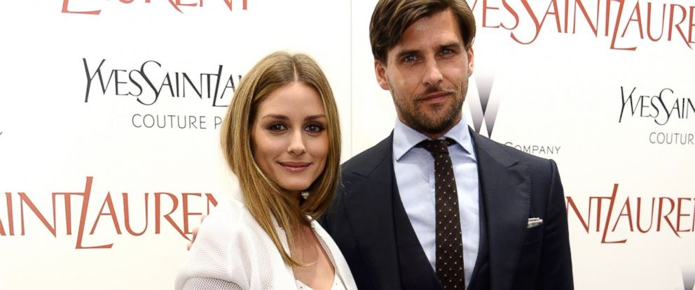 """PHOTO: Olivia Palermo and Johannes Huebl attend The Weinstein Companys """"Yves Saint Laurent"""" premiere at Museum of Modern Art on June 16, 2014 in New York City."""