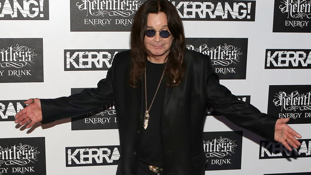 PHOTO: Ozzy Osbourne of Black Sabbath attends the Kerrang! Awards at The Brewery on June 7, 2012 in London, England.